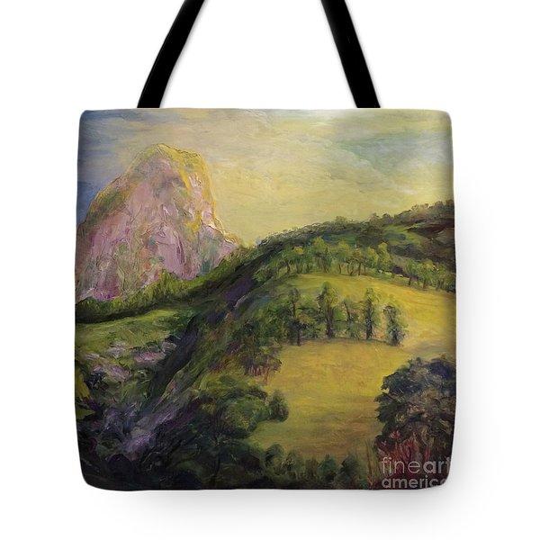 Moro Rock, Kings Canyon Tote Bag