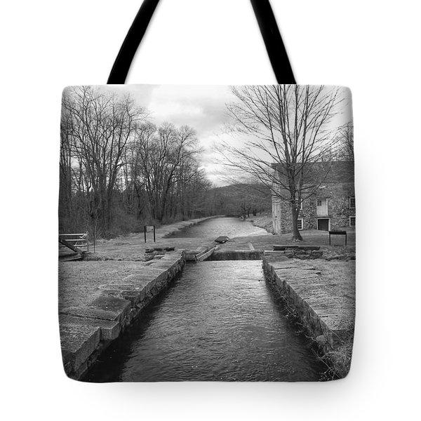 Morris Canal And Lock - Waterloo Village Tote Bag