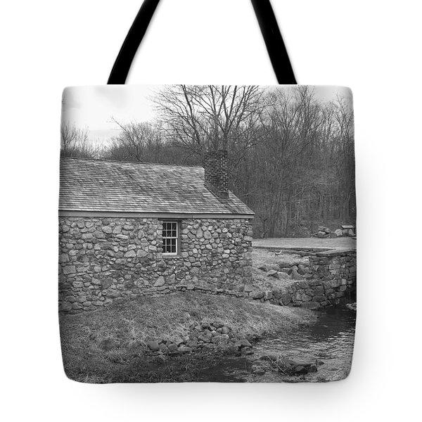 Morris Canal Lock House - Waterloo Village Tote Bag