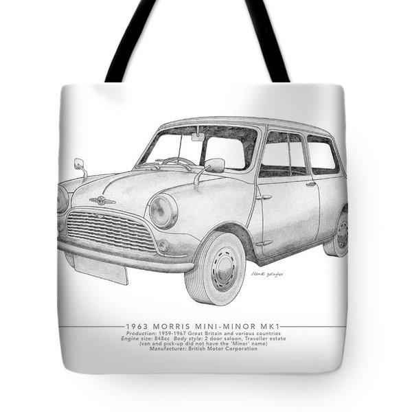 Morris Mini-minor Saloon Tote Bag