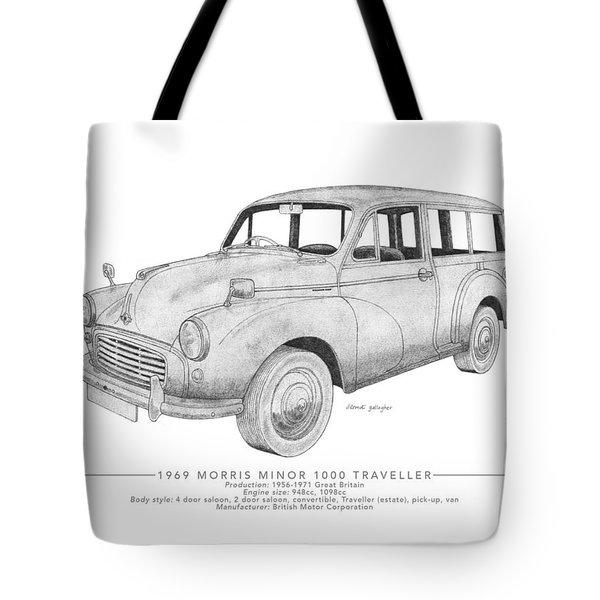 Morris Minor 1000 Traveller Tote Bag
