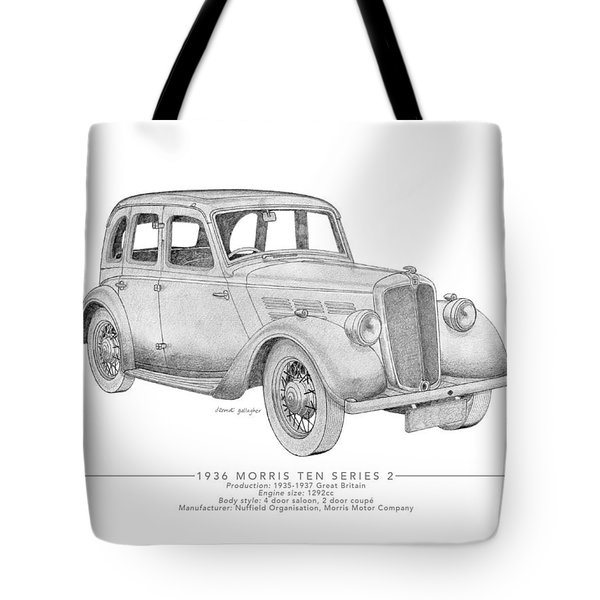 Morris Ten Saloon Tote Bag