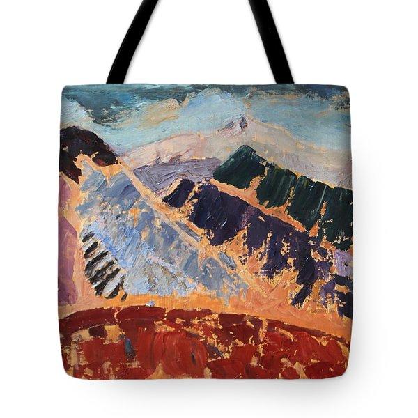 Mosaic Canigou Tote Bag
