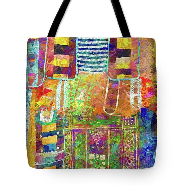 Mosaic Garden Tote Bag