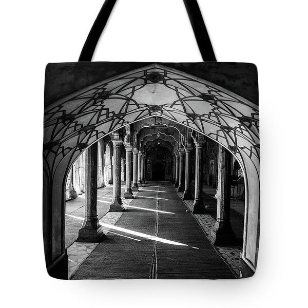 Mosque Entrance Tote Bag