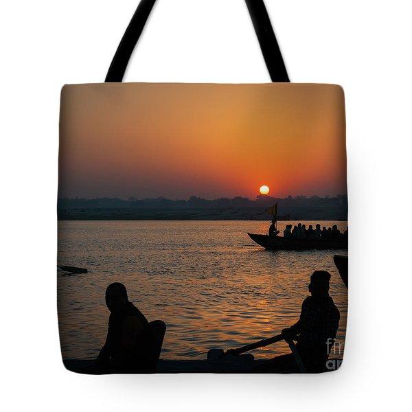 Mother Ganges Tote Bag