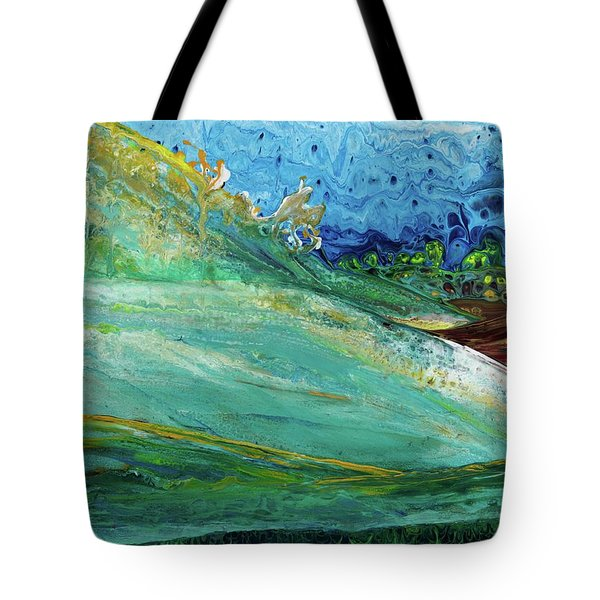 Mother Nature - Landscape View Tote Bag