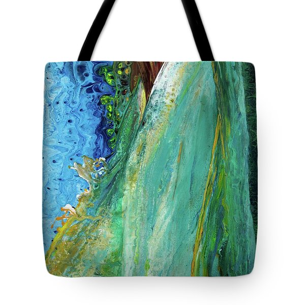 Mother Nature - Portrait View Tote Bag