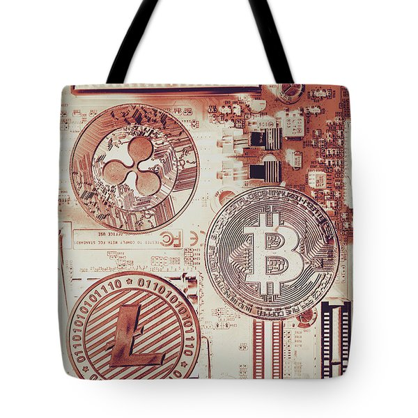 Motherboard Money Tote Bag