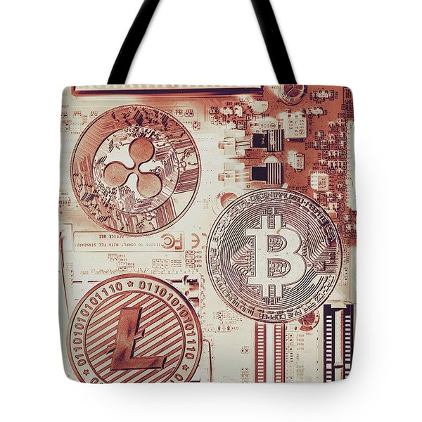 Motherboard Money Tote Bag