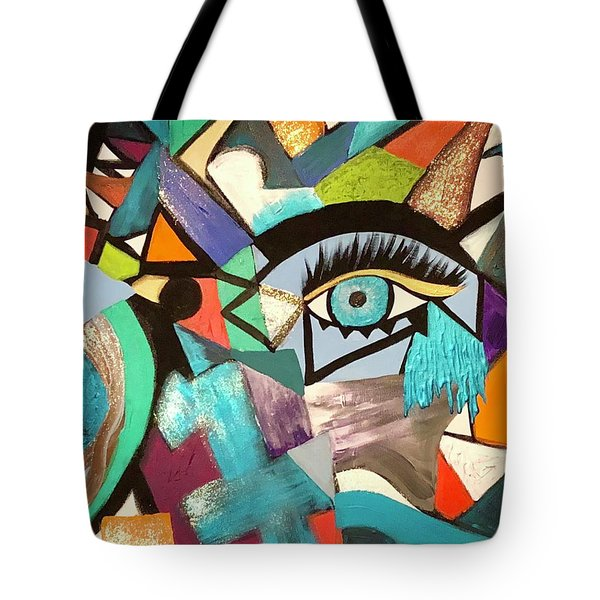 Motley Eye 4 Tote Bag
