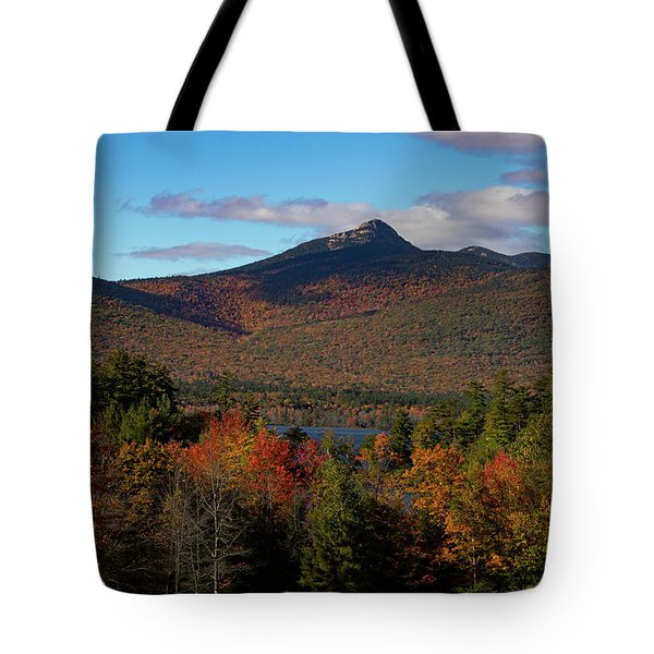 Tote Bag featuring the photograph Mount Chocorua New Hampshire by Jeff Folger