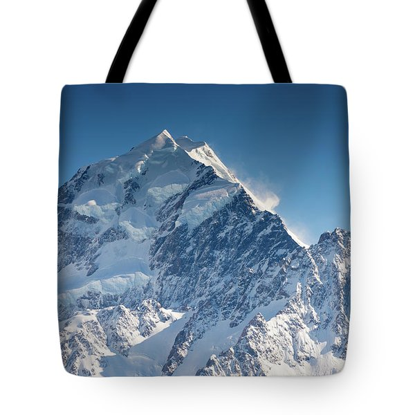Mount Cook Aoraki Summit Ridge Tote Bag
