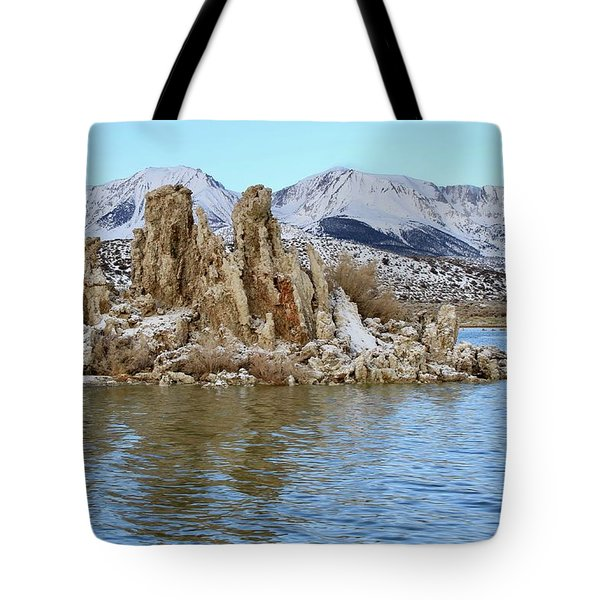 Mount Dana At Dawn  Mono Lake Tote Bag