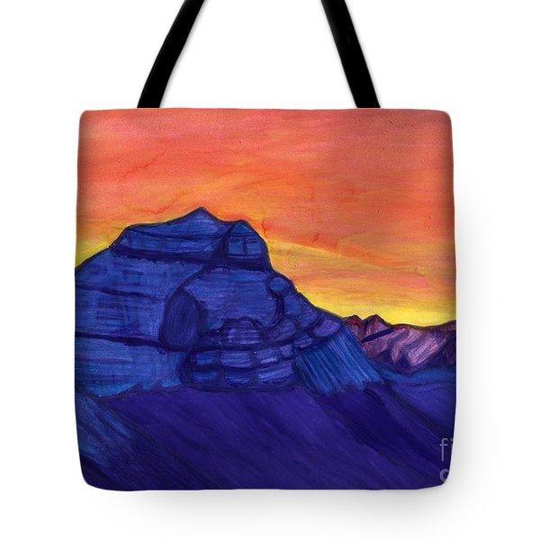 Mount Kailash Tote Bag