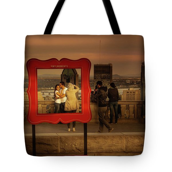 Tote Bag featuring the photograph Mount Royal View Point by Juan Contreras