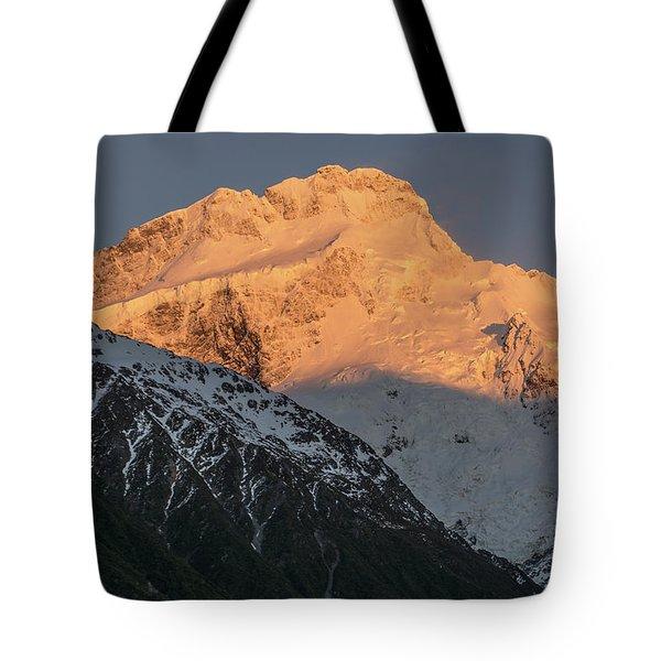 Mount Sefton Sunrise Tote Bag