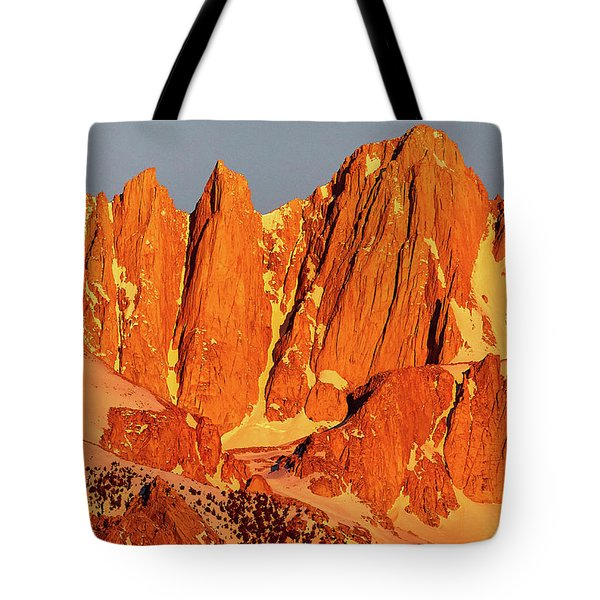 Mount Whitney Sunrise Tote Bag