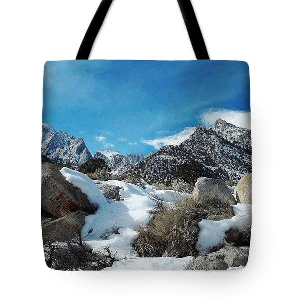 Mount Whitney Vista Tote Bag