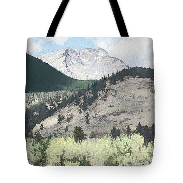 Mount Ypsilon Tote Bag
