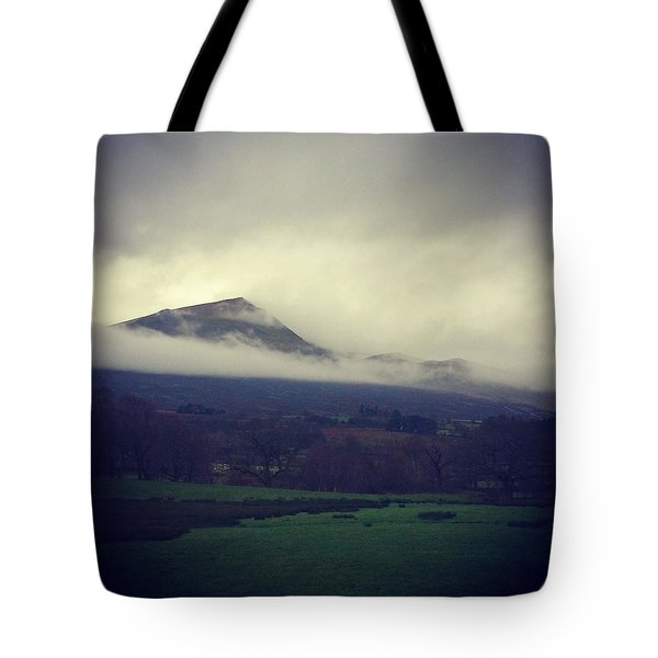 Mountain Cloud Tote Bag