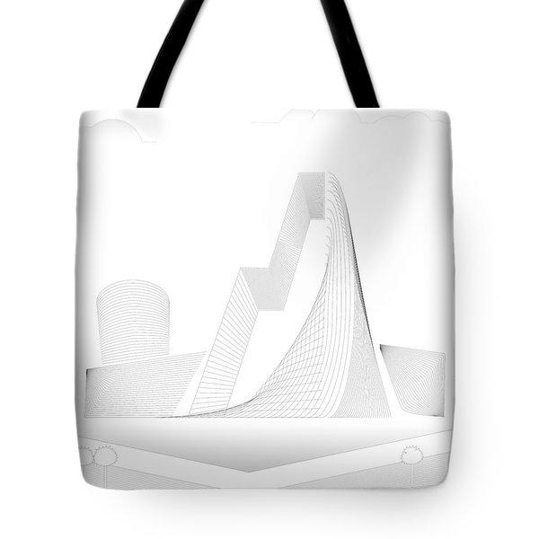 Mountain Gate Tote Bag