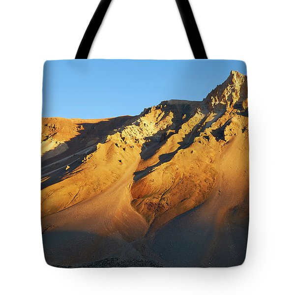 Tote Bag featuring the photograph Mountain Gold by Whitney Goodey