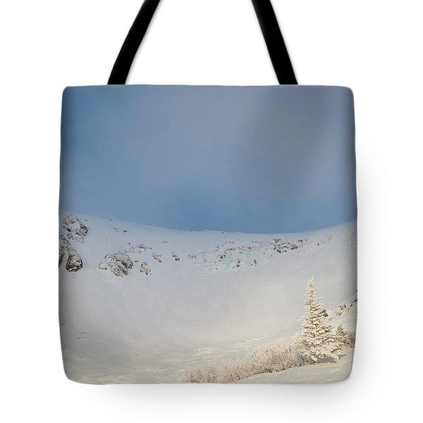 Mountain Light, Tuckerman Ravine Tote Bag