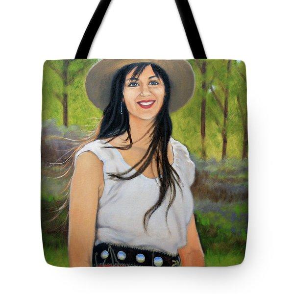 Mountain Megan Tote Bag