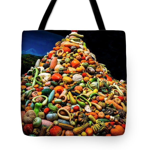 Mountain Of Gourds Tote Bag