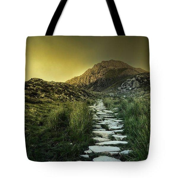 Mountain Path Tote Bag