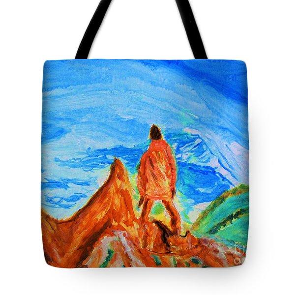 Mountain Vista Tote Bag