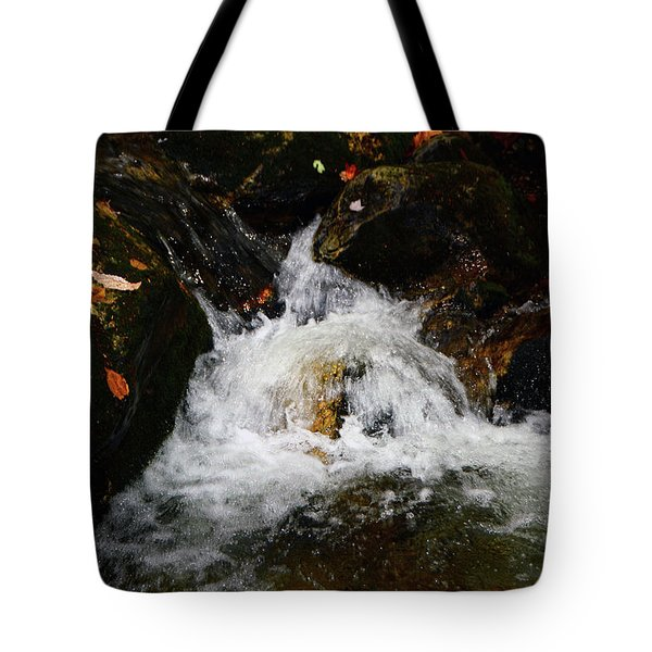Tote Bag featuring the photograph Mountain Water by Raymond Salani III