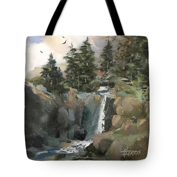 Mountain Waters Tote Bag