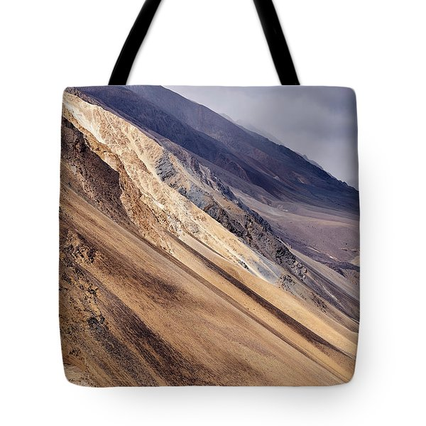 Tote Bag featuring the photograph Mountainside by Whitney Goodey