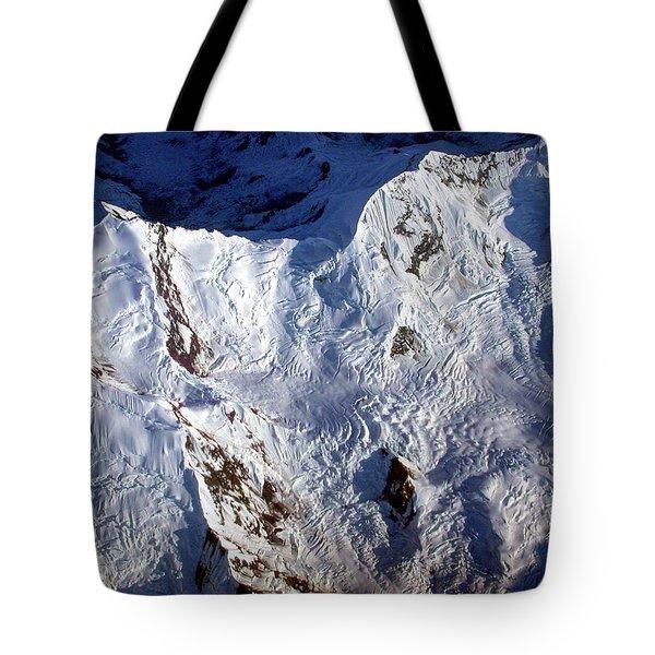 Mountaintop Snow Tote Bag