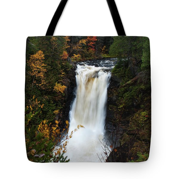 Tote Bag featuring the photograph Moxie Falls by Rick Hartigan