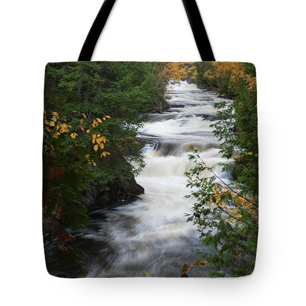 Tote Bag featuring the photograph Moxie Stream by Rick Hartigan