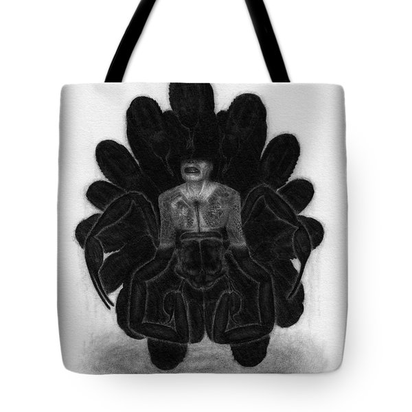 Mr Death - Artwork Tote Bag