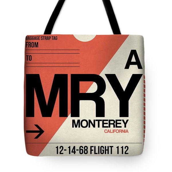 Mry Monterey Luggage Tag I Tote Bag