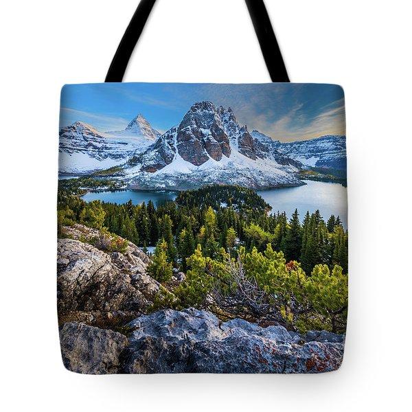 Mt Assiniboine Twilight Tote Bag