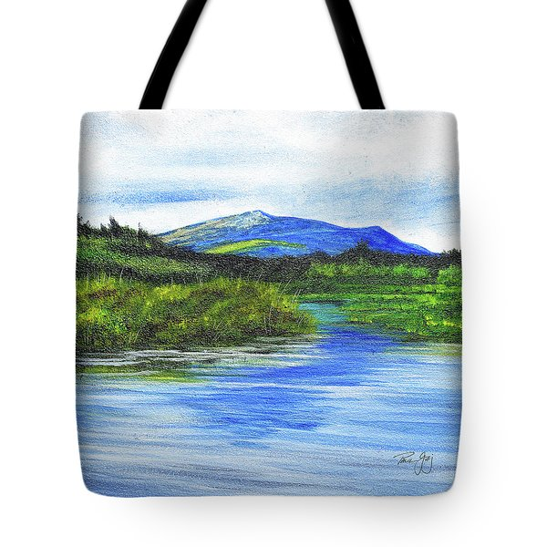 Mt. Monandnock From Scott Brook Tote Bag