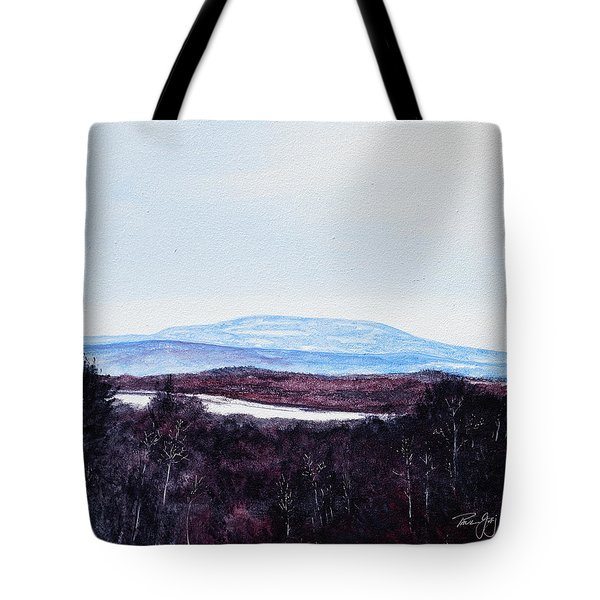 Mt. Wachusett Tote Bag