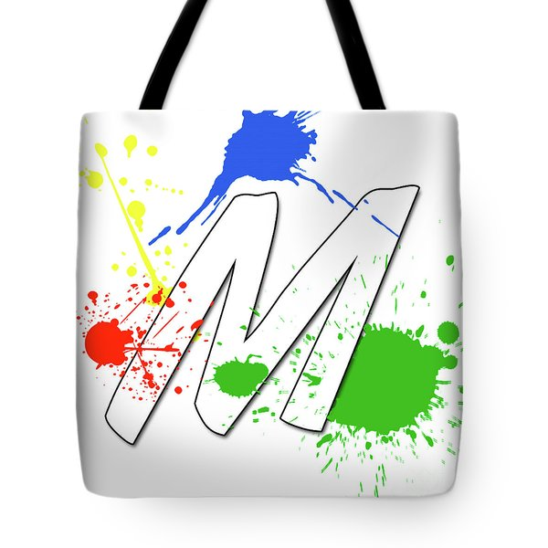 Tote Bag featuring the digital art MTM by Meet the Masters