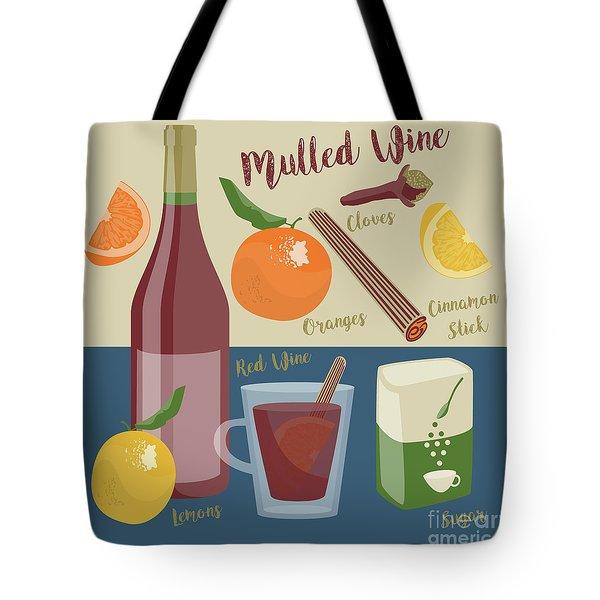 Mulled Wine Tote Bag