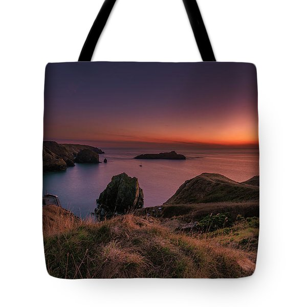 Mullion Cove - Sunset 2 Tote Bag