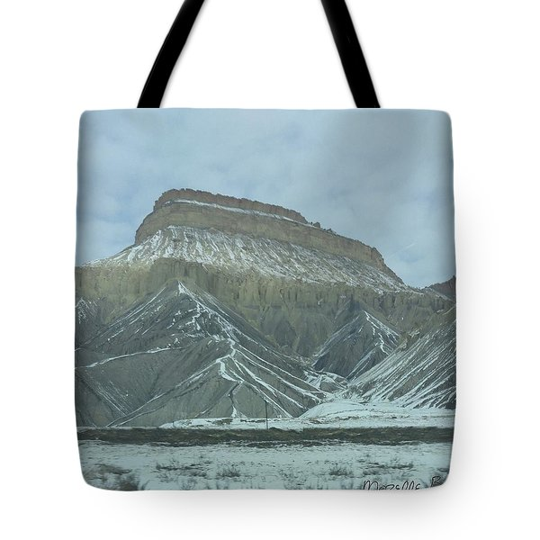 Multi-level Mountains Tote Bag