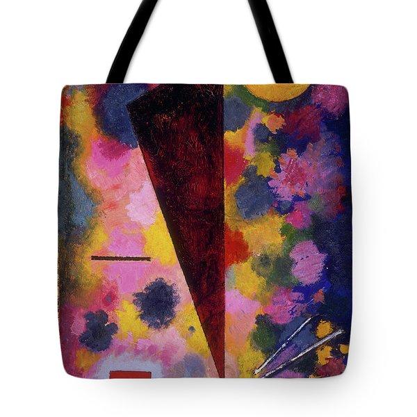Multicolored Resonance Tote Bag