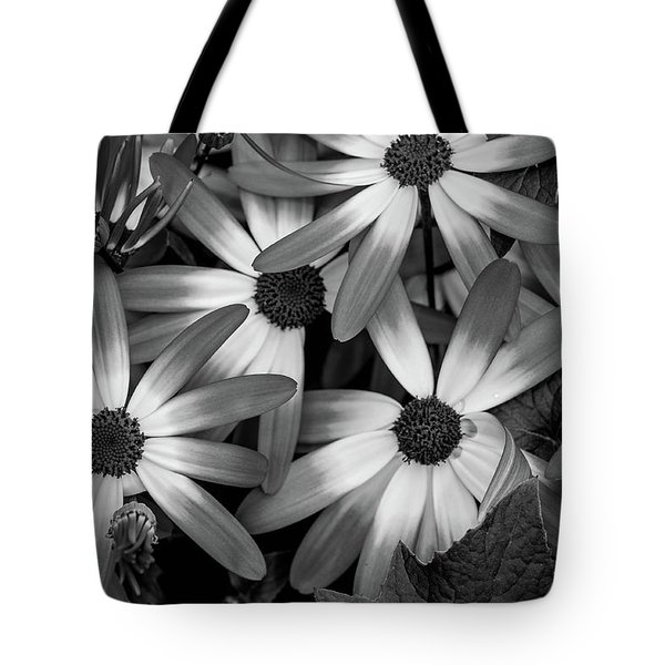 Tote Bag featuring the photograph Multiple Daisies Flowers by Louis Dallara