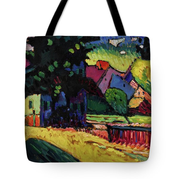 Murnau - Landscape With Green House  Tote Bag